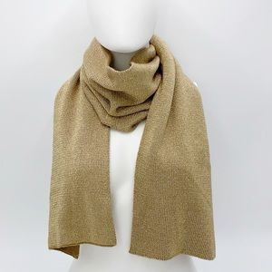 Micheal Kors Gold Knit Scarf